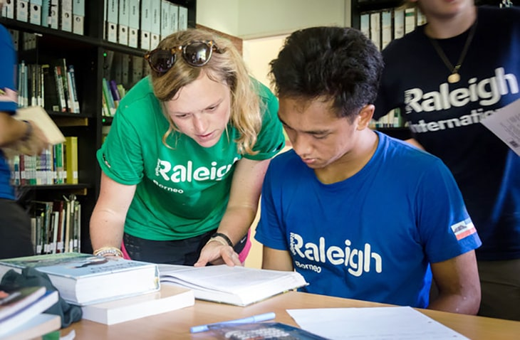 volunteer expeditions with Raleigh International